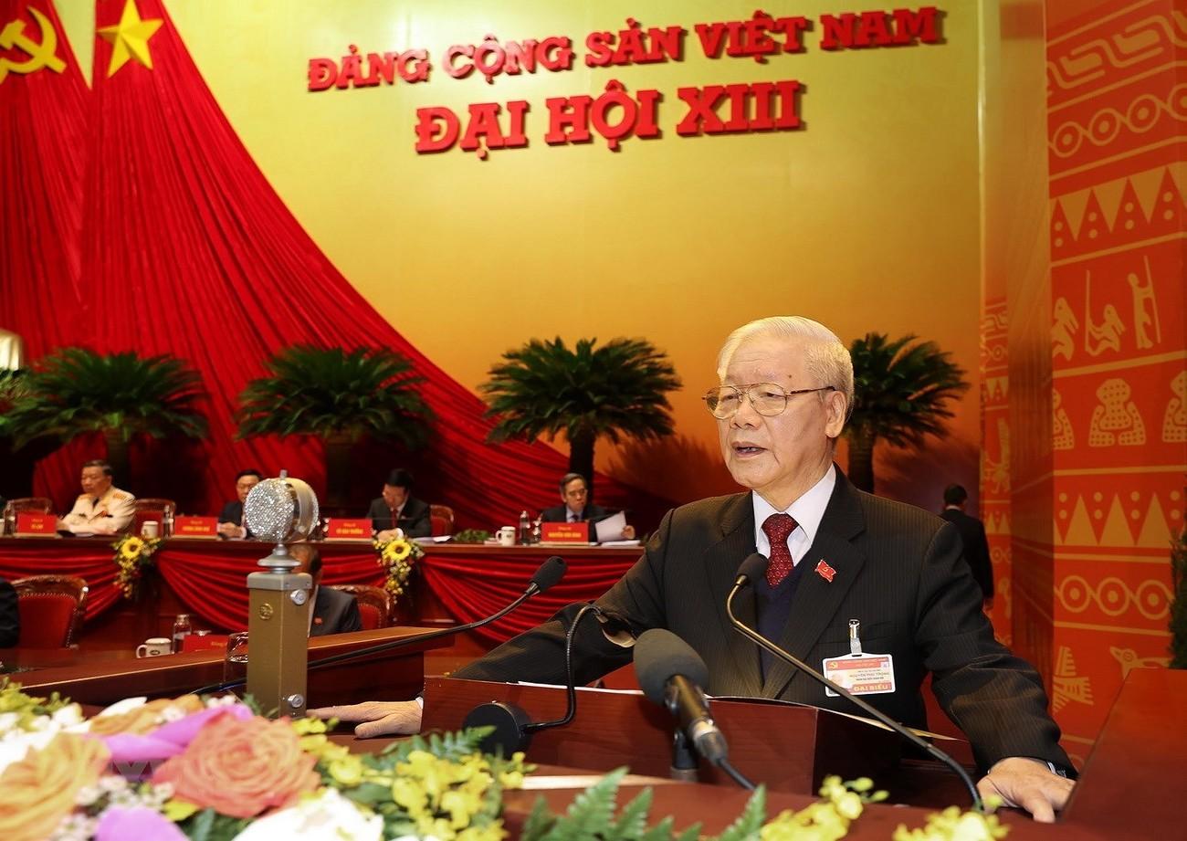 Toàn cảnh ngày làm việc thứ hai Đại hội XIII của Đảng ảnh 3