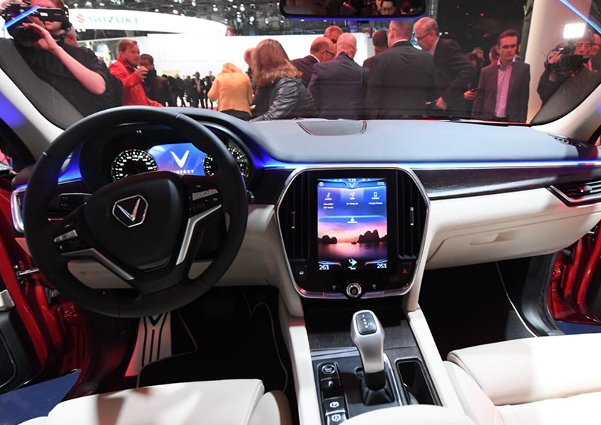 Chiêm ngưỡng vẻ đẹp nội thất của ôtô Vinfast ảnh 3