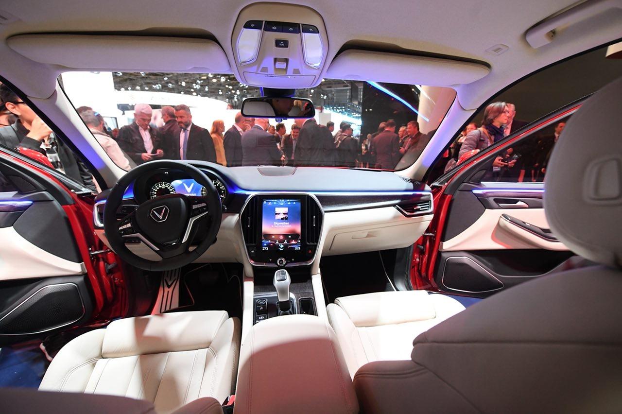 Chiêm ngưỡng vẻ đẹp nội thất của ôtô Vinfast ảnh 6