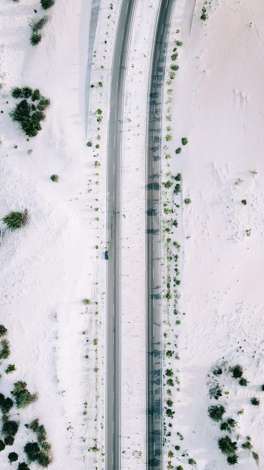 Đi đâu đón 2021: Cung đường biển phủ đầy cát trắng đẹp nhất Việt Nam ảnh 3