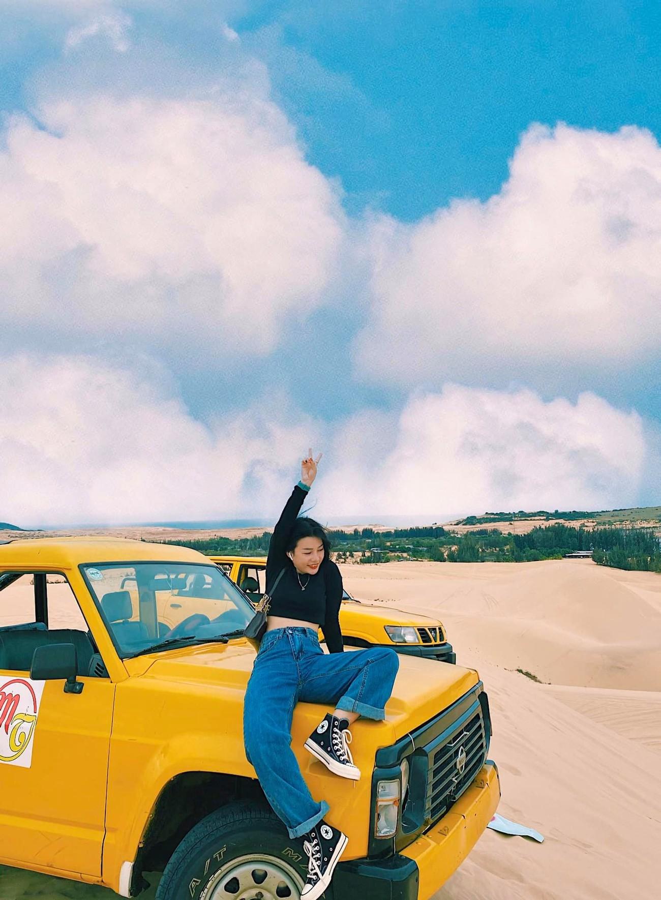 Đi đâu đón 2021: Cung đường biển phủ đầy cát trắng đẹp nhất Việt Nam ảnh 5