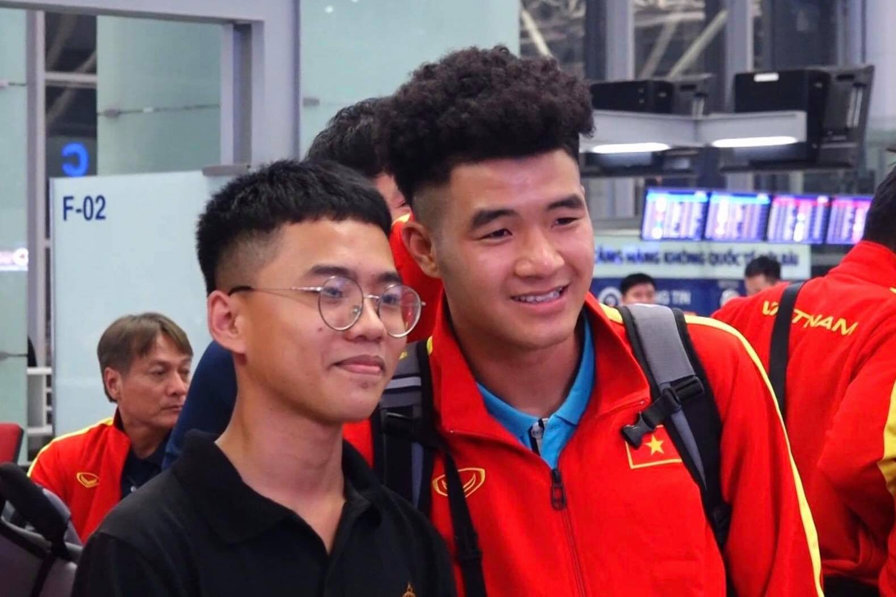 U23 Việt Nam sang Hàn Quốc tập huấn lúc nửa đêm ảnh 6