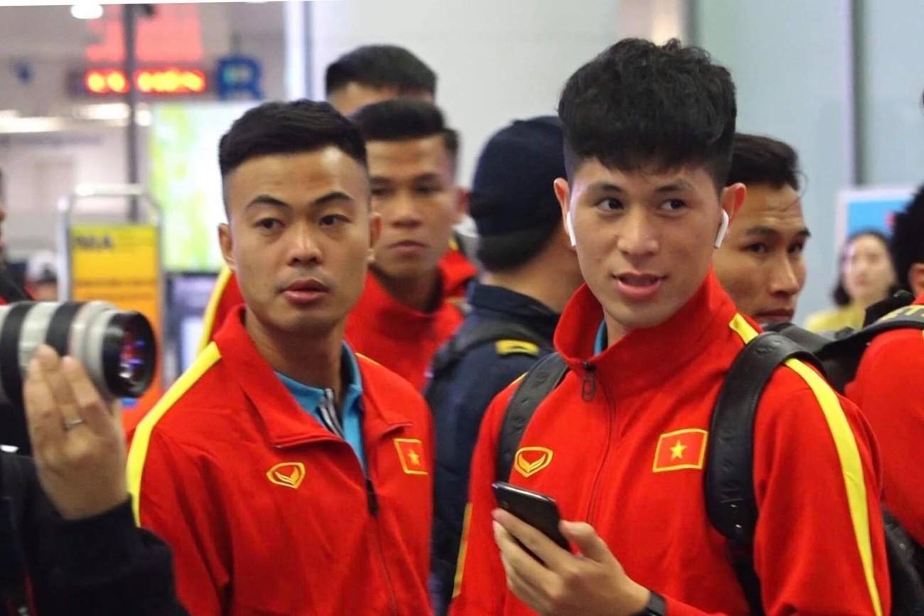 U23 Việt Nam sang Hàn Quốc tập huấn lúc nửa đêm ảnh 7