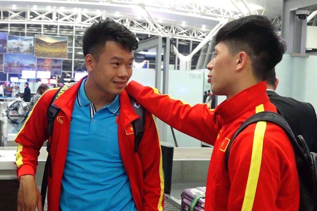 U23 Việt Nam sang Hàn Quốc tập huấn lúc nửa đêm ảnh 9
