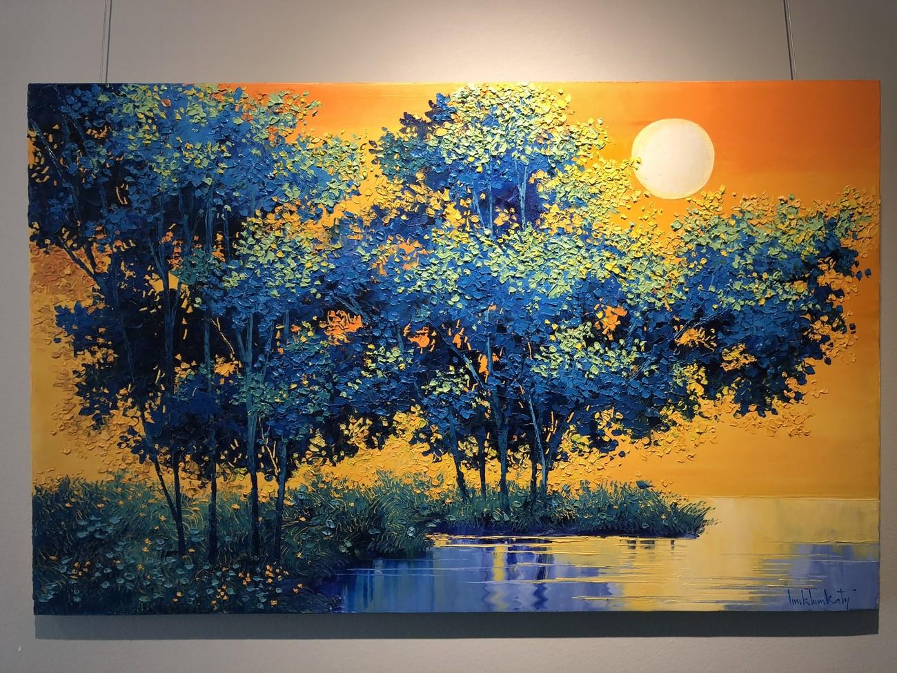 """Đắm chìm trong những bức họa thiên nhiên tại triển lãm """"Sức Sống Mộc Nhiên"""" ảnh 7"""