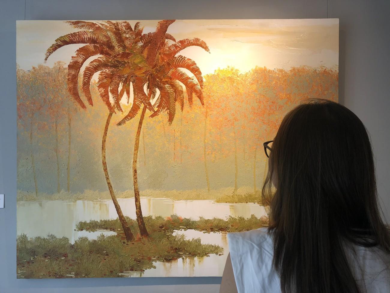 """Đắm chìm trong những bức họa thiên nhiên tại triển lãm """"Sức Sống Mộc Nhiên"""" ảnh 4"""