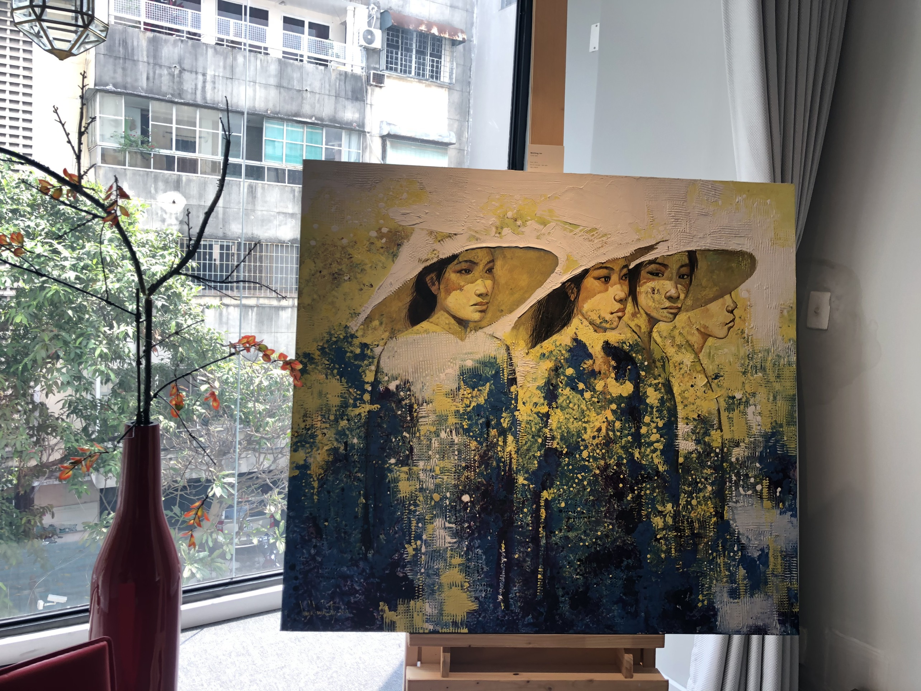 """Đắm chìm trong những bức họa thiên nhiên tại triển lãm """"Sức Sống Mộc Nhiên"""" ảnh 6"""
