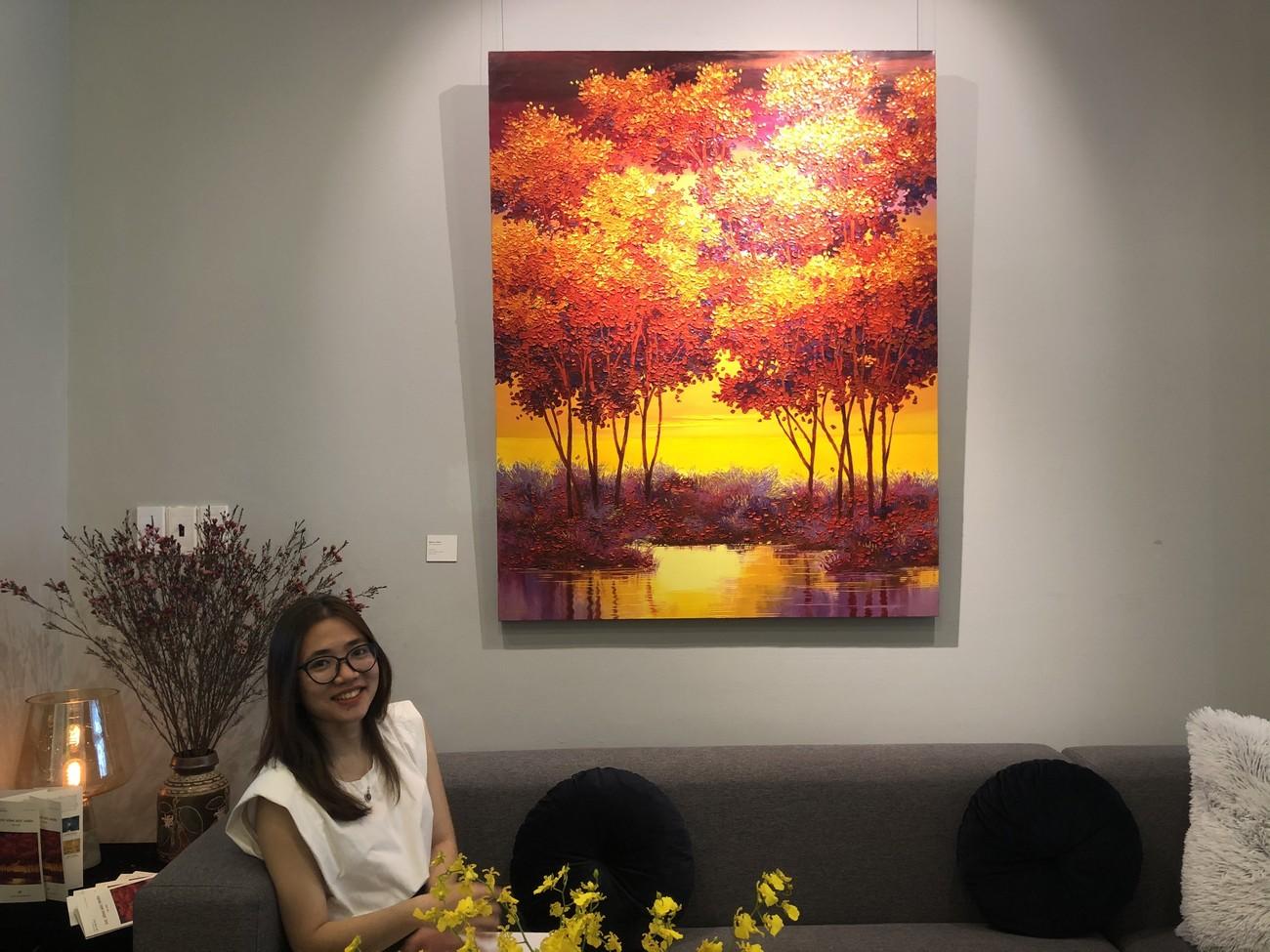"""Đắm chìm trong những bức họa thiên nhiên tại triển lãm """"Sức Sống Mộc Nhiên"""" ảnh 1"""