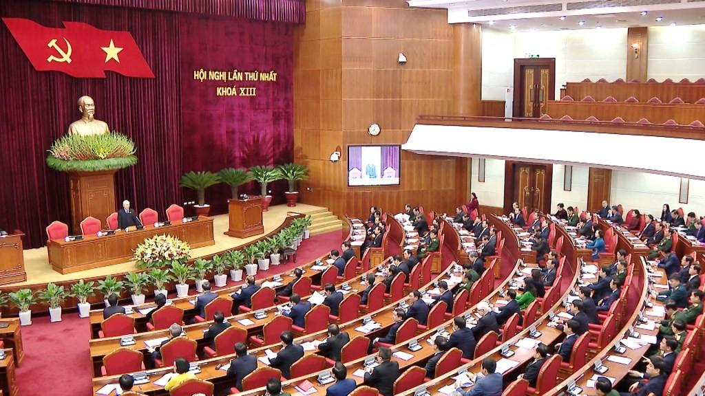 Đồng chí Nguyễn Phú Trọng tái đắc cử Tổng Bí thư ảnh 3