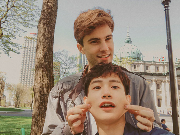 Tình yêu 5 năm của 2 chàng trai Canada - Hàn Quốc thu hút hơn 300K lượt followers trên MXH ảnh 3