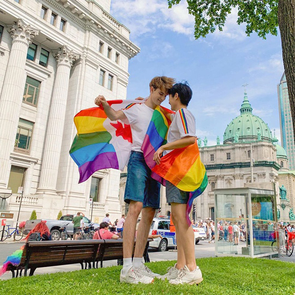 Tình yêu 5 năm của 2 chàng trai Canada - Hàn Quốc thu hút hơn 300K lượt followers trên MXH ảnh 6