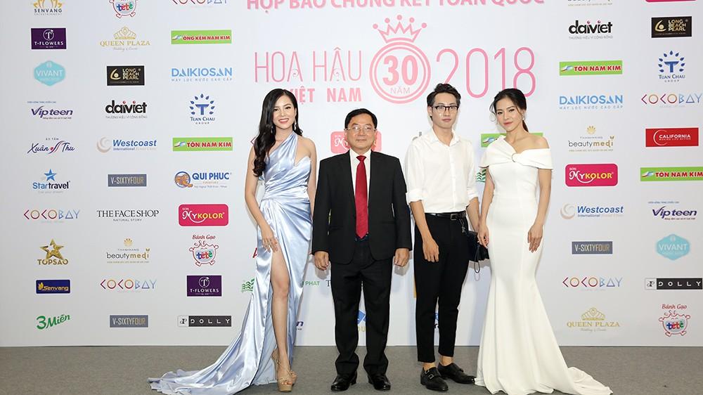 Toàn cảnh họp báo Chung kết Hoa hậu Việt Nam 2018 ảnh 2
