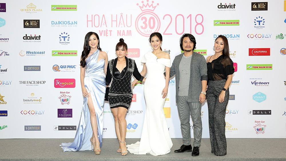 Toàn cảnh họp báo Chung kết Hoa hậu Việt Nam 2018 ảnh 3