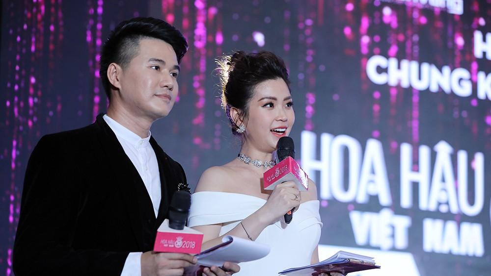 Toàn cảnh họp báo Chung kết Hoa hậu Việt Nam 2018 ảnh 14