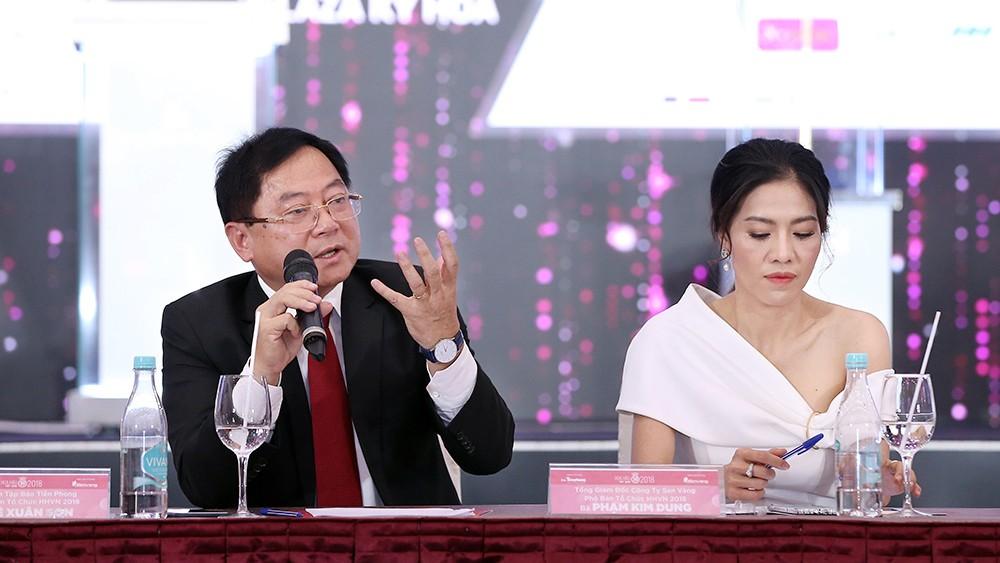Toàn cảnh họp báo Chung kết Hoa hậu Việt Nam 2018 ảnh 15