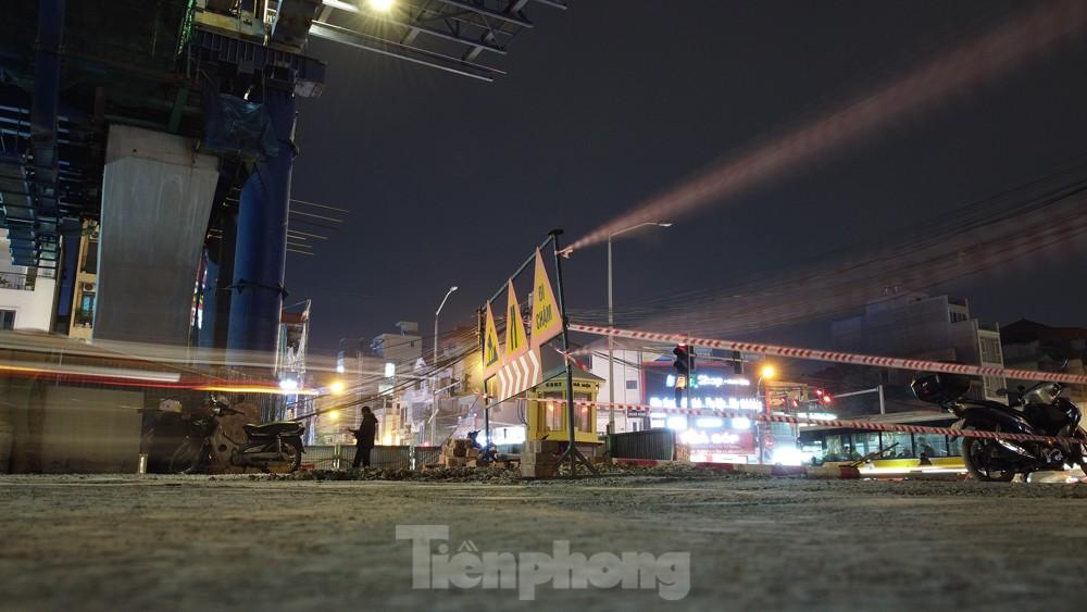 Hà Nội: Đêm đến trên công trường vành đai 2 ảnh 6