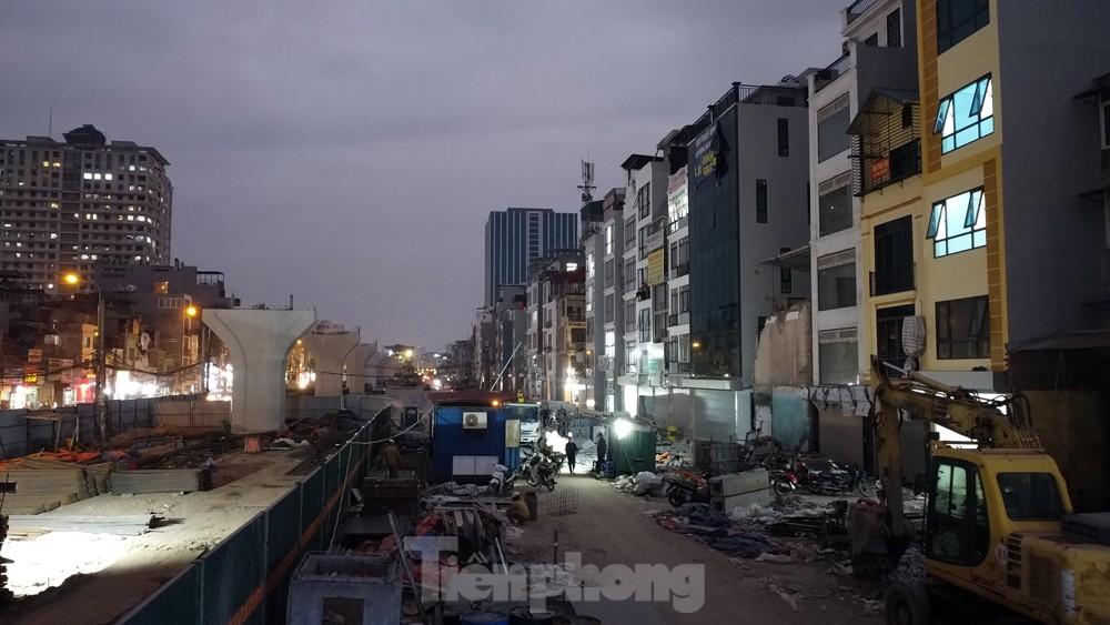 Hà Nội: Đêm đến trên công trường vành đai 2 ảnh 7