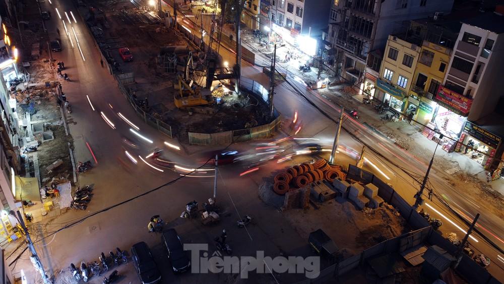 Hà Nội: Đêm đến trên công trường vành đai 2 ảnh 8