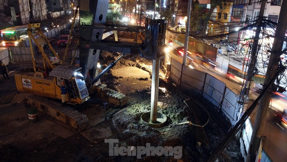 Hà Nội: Đêm đến trên công trường vành đai 2 ảnh 9