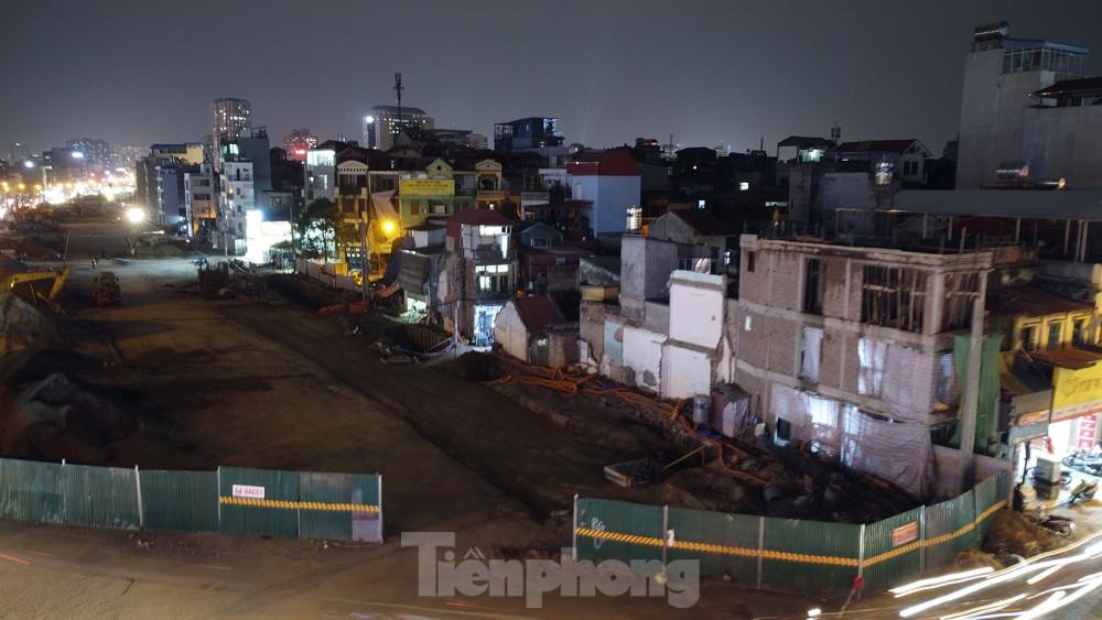 Hà Nội: Đêm đến trên công trường vành đai 2 ảnh 14