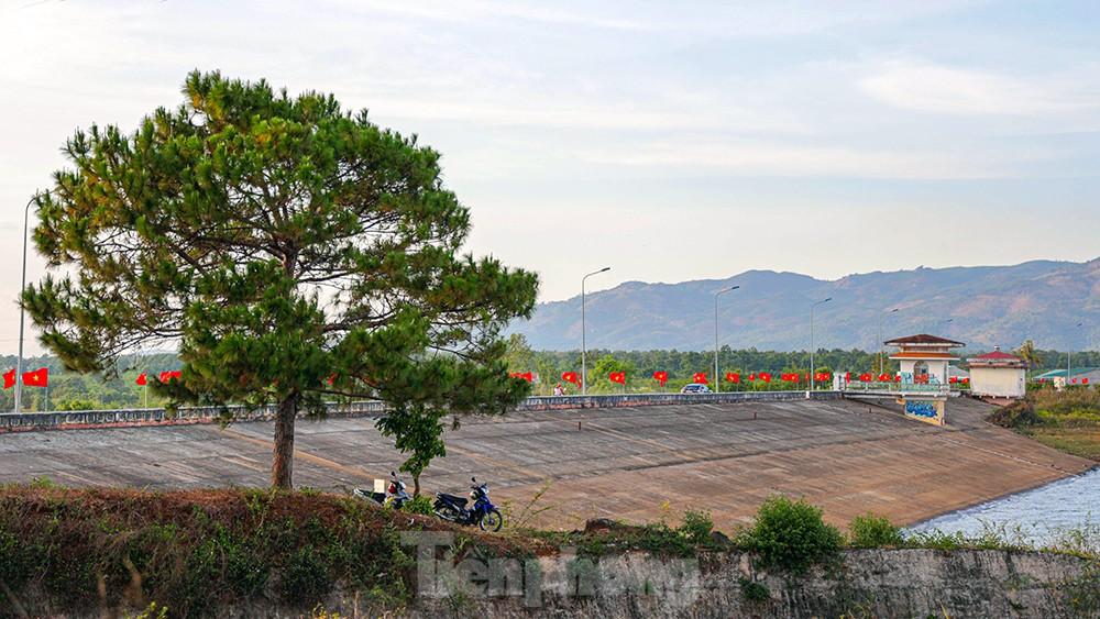Hàng thông trăm tuổi, cầu treo, đồi chè xanh ngát trên cung đường Tiền Phong Marathon 2021 ảnh 9