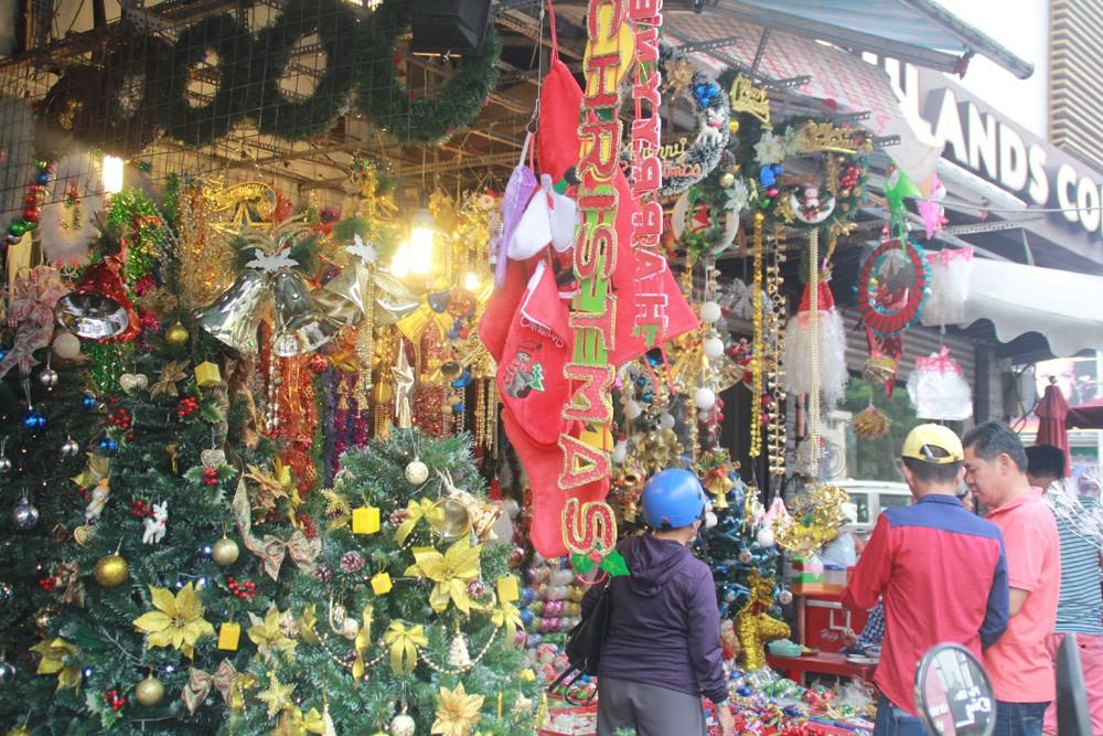 Phố Sài Gòn lung linh đón Giáng sinh ảnh 4