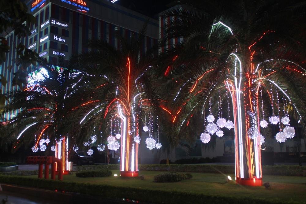 Phố Sài Gòn lung linh đón Giáng sinh ảnh 12