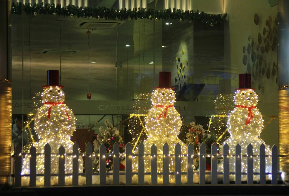 Phố Sài Gòn lung linh đón Giáng sinh ảnh 16