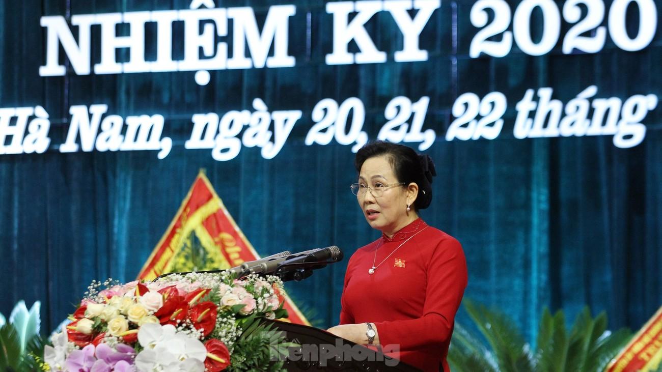 Ban chấp hành Đảng bộ tỉnh Hà Nam khoá XX chính thức ra mắt ảnh 5