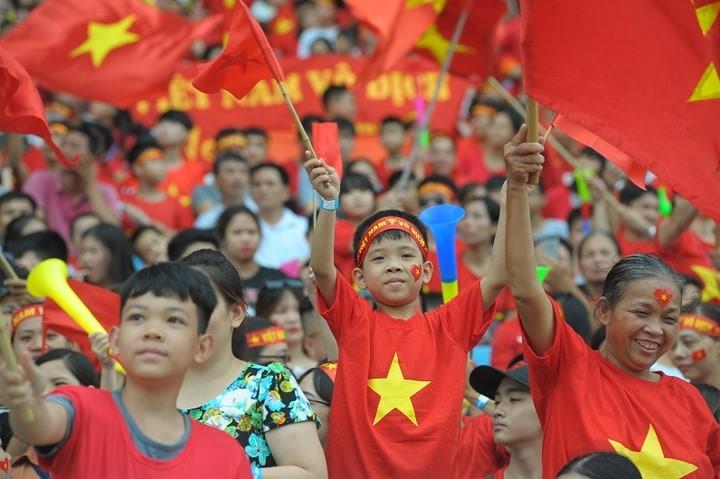 'Bay' trên sân Mỹ Đình trong ngày mừng công Thể thao Việt Nam ảnh 14