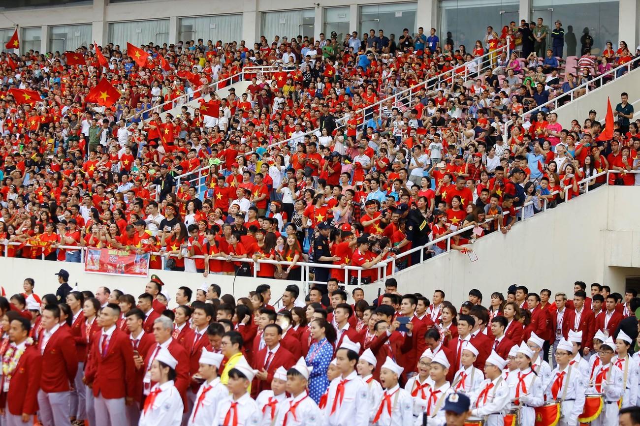 'Bay' trên sân Mỹ Đình trong ngày mừng công Thể thao Việt Nam ảnh 19