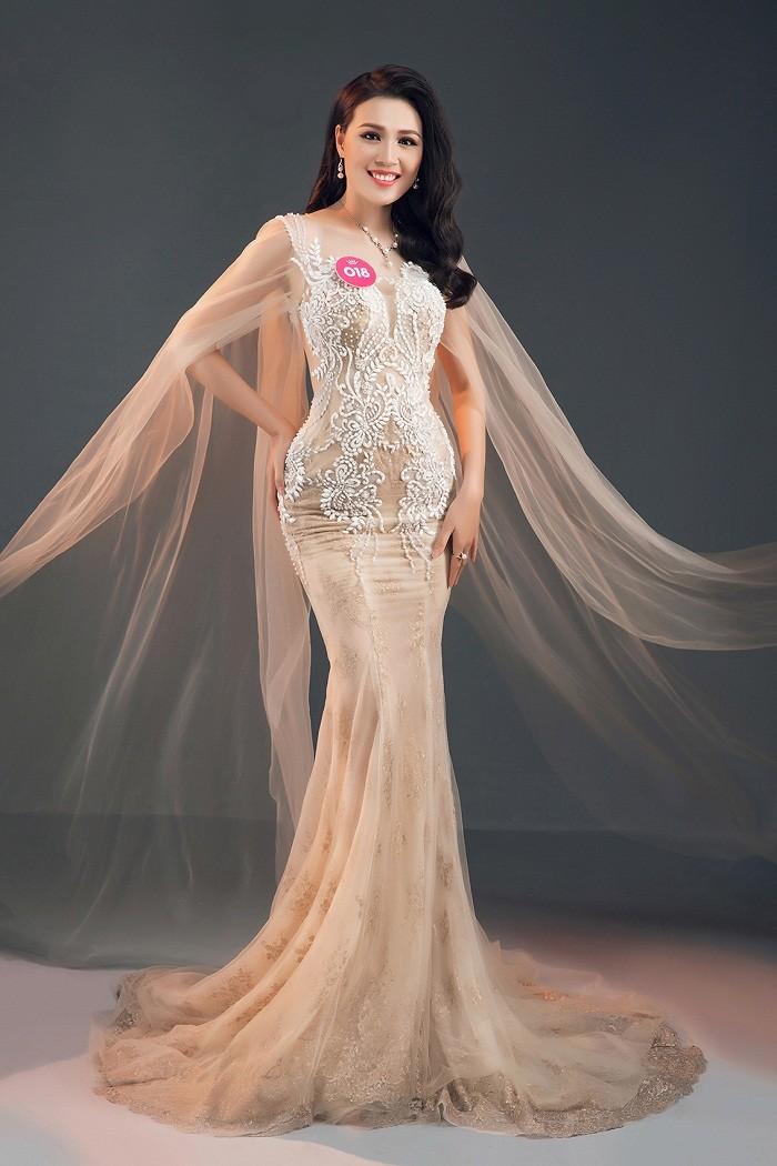 Thí sinh HHVN 2018 diện đầm dạ hội, đeo trang sức ngọc trai đẳng cấp ảnh 34
