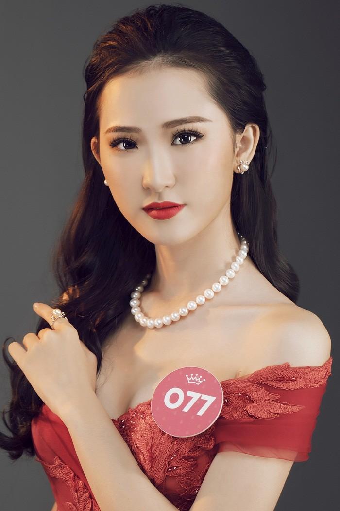 Thí sinh HHVN 2018 diện đầm dạ hội, đeo trang sức ngọc trai đẳng cấp ảnh 23