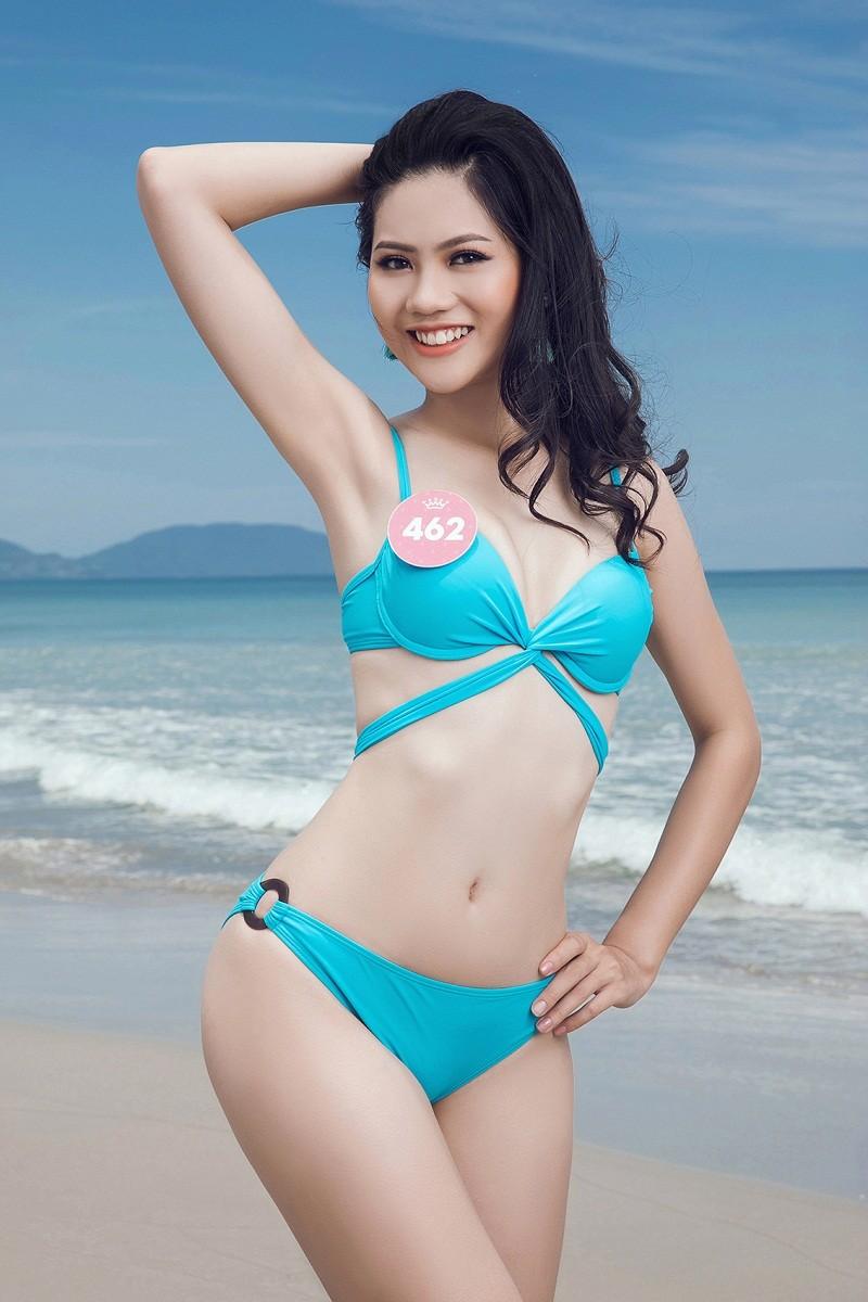 Thí sinh HHVN 2018 khoe eo thon, dáng chuẩn trên bãi biển ảnh 40