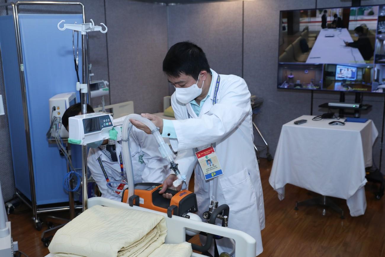 Phòng chăm sóc đặc biệt phục vụ Đại hội lần thứ XIII của Đảng ảnh 8