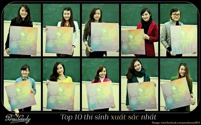 10 nữ sinh hot nhất trường Báo chí ảnh 1