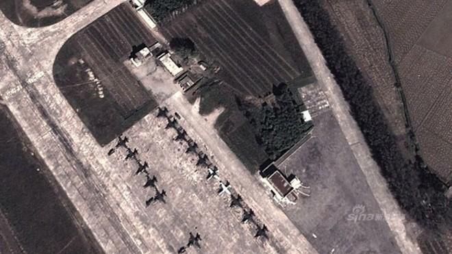 Không quân Triều Tiên bị lộ căn cứ mạnh nhất ảnh 1