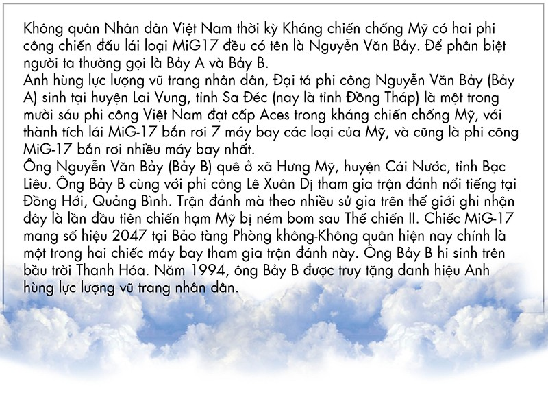 Cuộc đời huyền thoại của Anh hùng phi công Nguyễn Văn Bảy ảnh 7