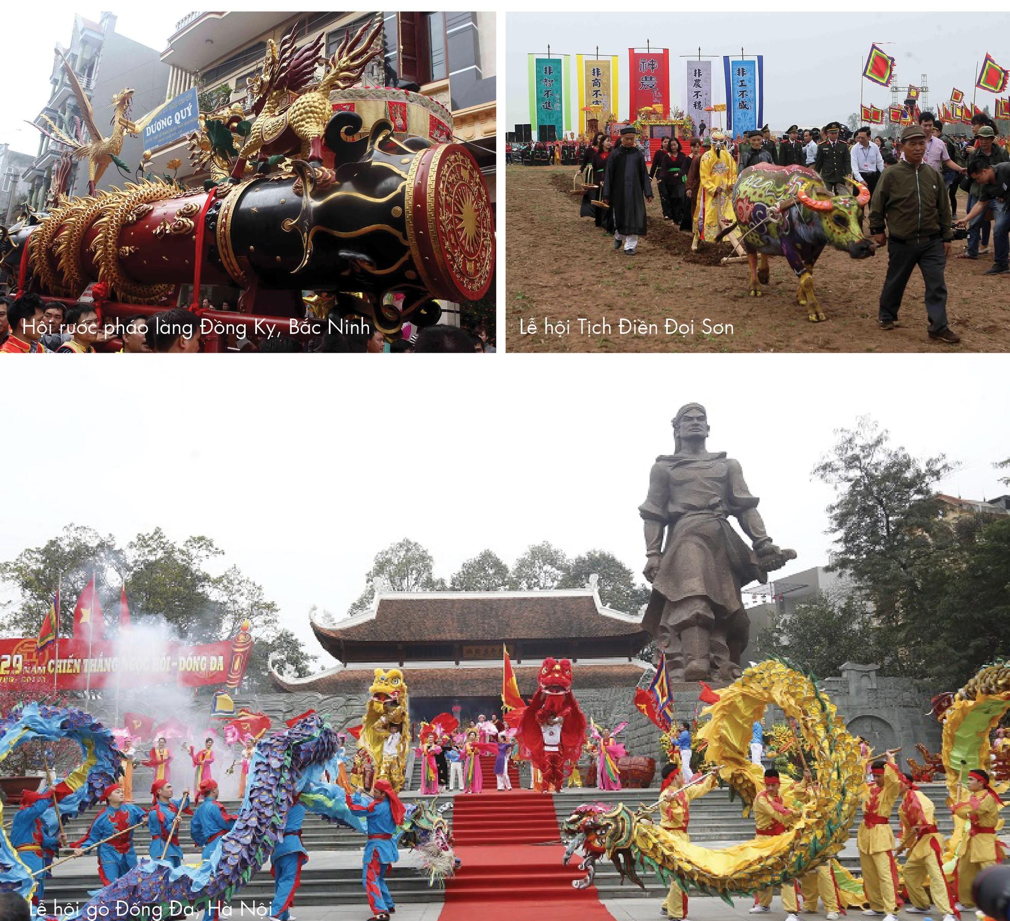 Những lễ hội đầu Xuân được mong đợi nhất trong dịp tết Nguyên Đán ảnh 1