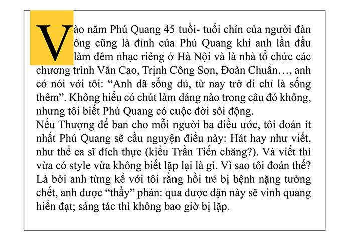 Phú Quang - Cháy lên tia lửa mặt trời ảnh 9