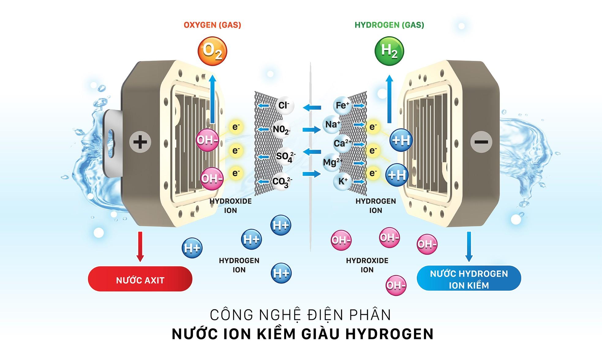 Máy lọc nước ion kiềm mang nước tốt cho sức khỏe người Việt ảnh 2