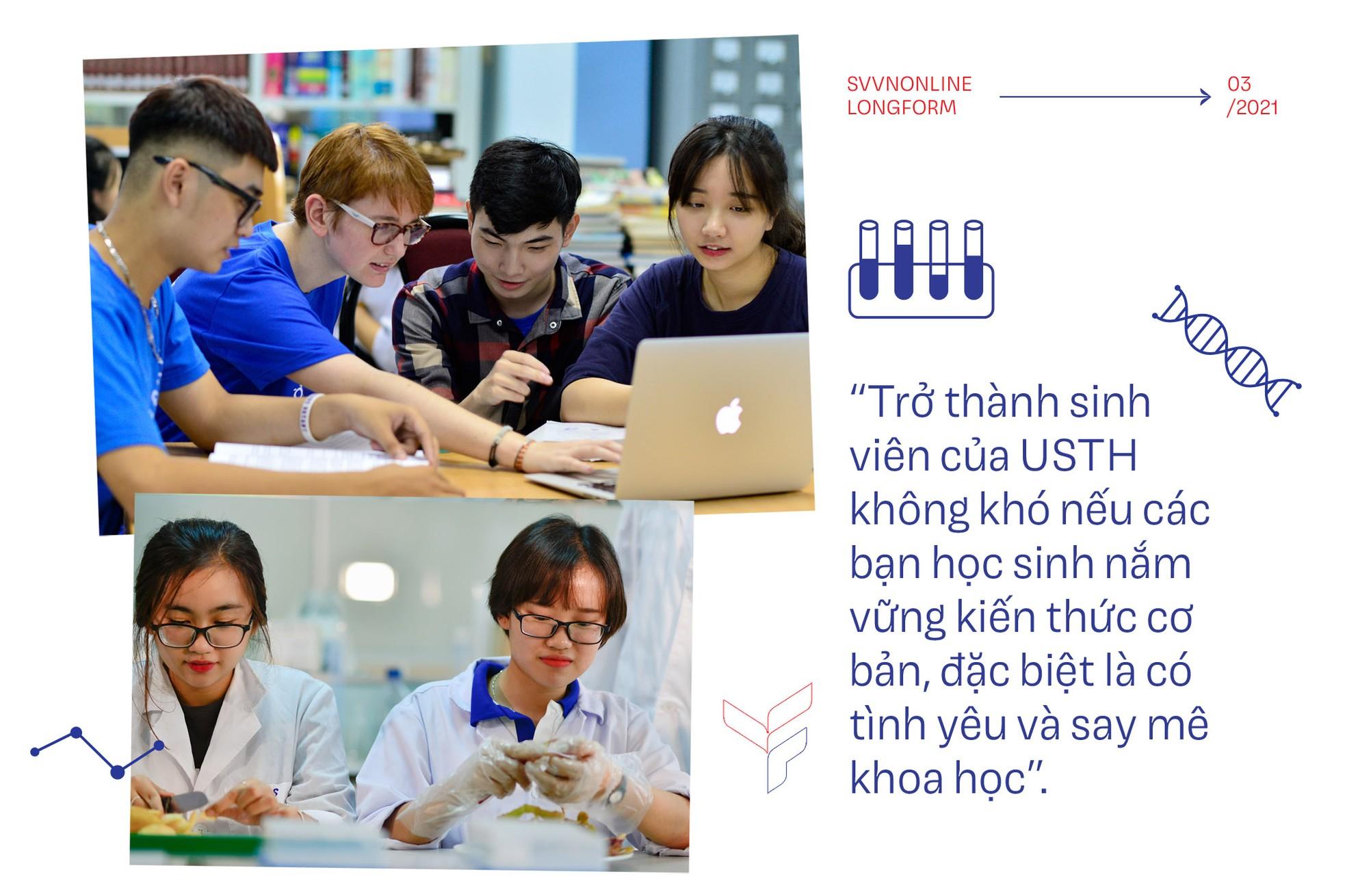 Đại học công lập quốc tế trực thuộc Viện hàn lâm dành cho học sinh yêu khoa học công nghệ ảnh 3