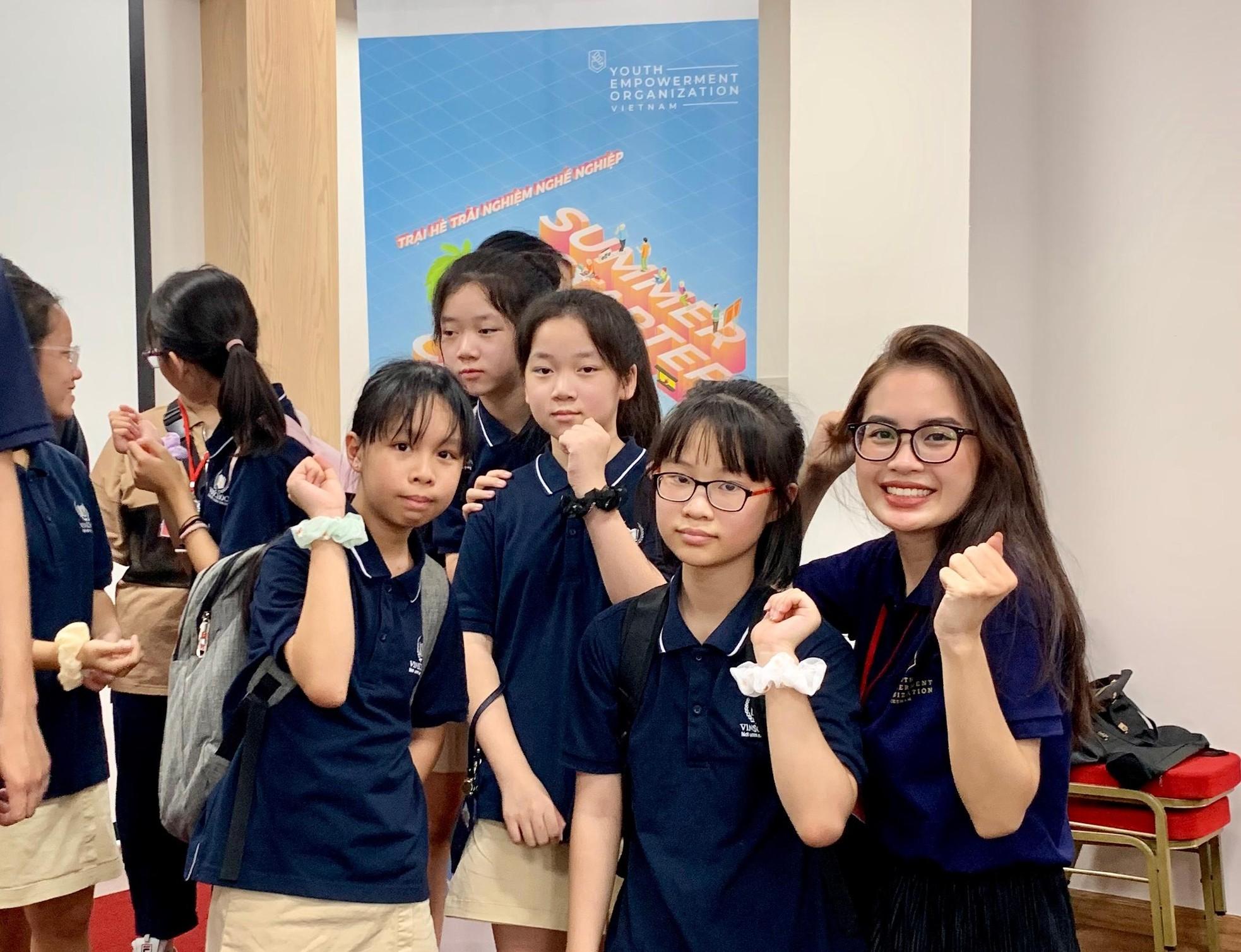 Nữ sinh Báo chí tài năng với tâm huyết xây dựng dự án giáo dục hướng nghiệp ảnh 4