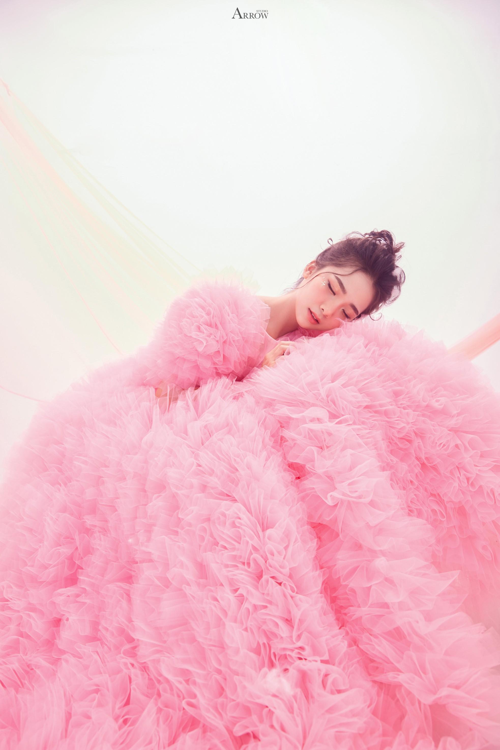 Nhan sắc 'kẹo ngọt' của nữ sinh trường Cao đẳng Nghệ thuật Hà Nội ảnh 9