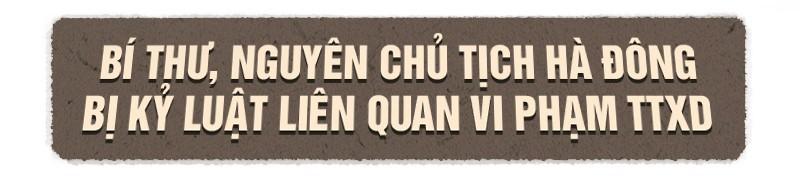 Loạt lãnh đạo quận, huyện Hà Nội sai phạm vì đất đai, xây dựng ảnh 1