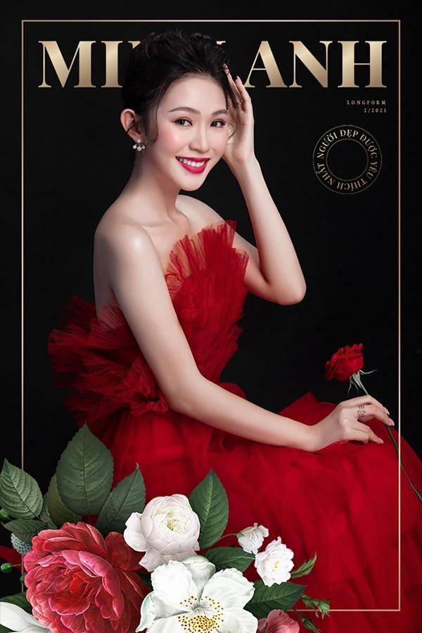 Người đẹp được yêu thích nhất Đậu Hải Minh Anh: Hành trình HHVN 2020 là kí ức tươi đẹp ảnh 2