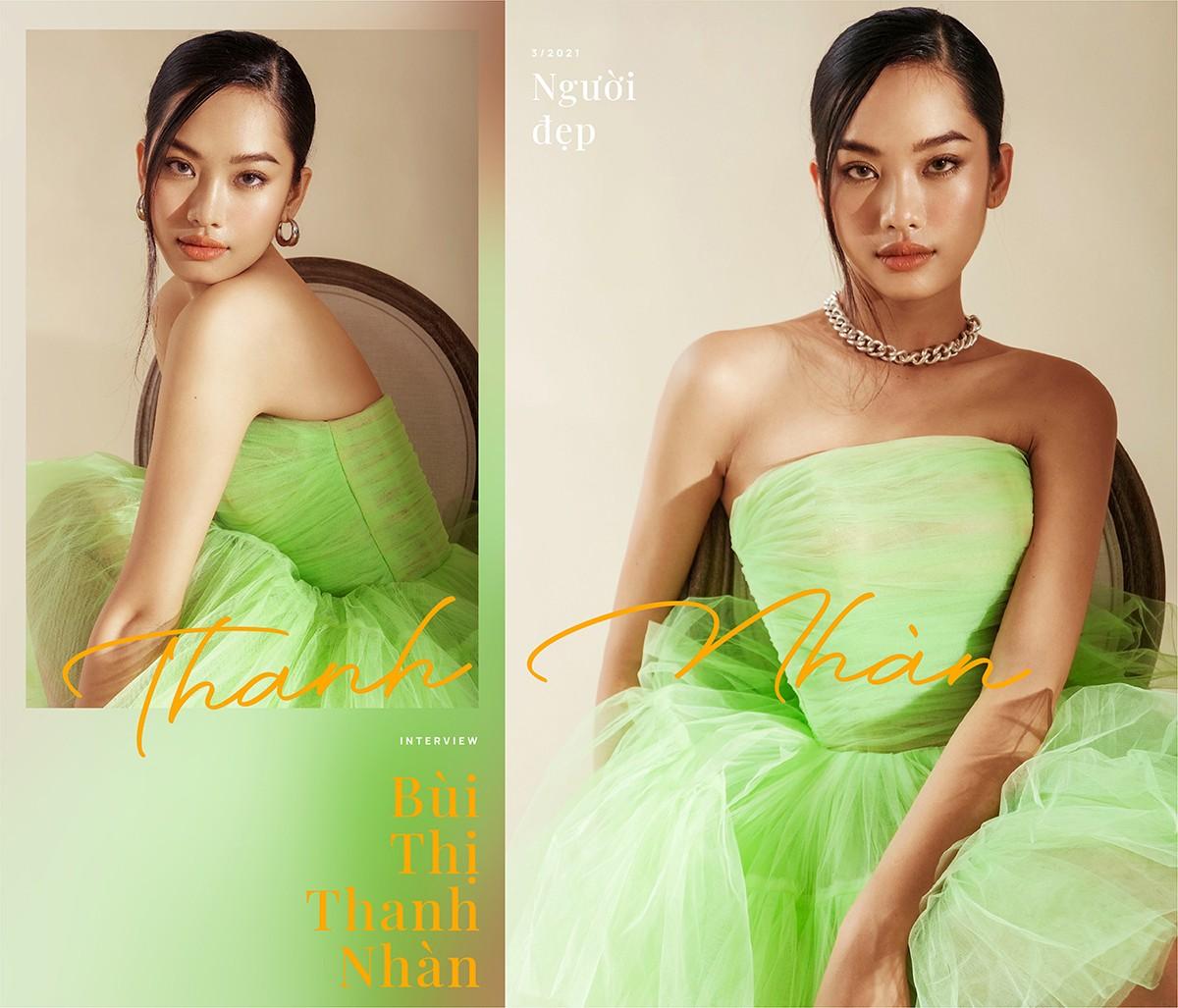 Bùi Thị Thanh Nhàn: Từ cô gái nông thôn đến 'Người đẹp Thời trang' của Hoa hậu Việt Nam ảnh 5