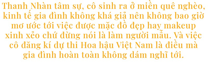 Bùi Thị Thanh Nhàn: Từ cô gái nông thôn đến 'Người đẹp Thời trang' của Hoa hậu Việt Nam ảnh 1