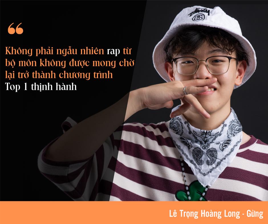 Rapper nhỏ tuổi nhất Rap Việt: 'Không phải ngẫu nhiên rap lại lọt Top 1 thịnh hành' ảnh 2