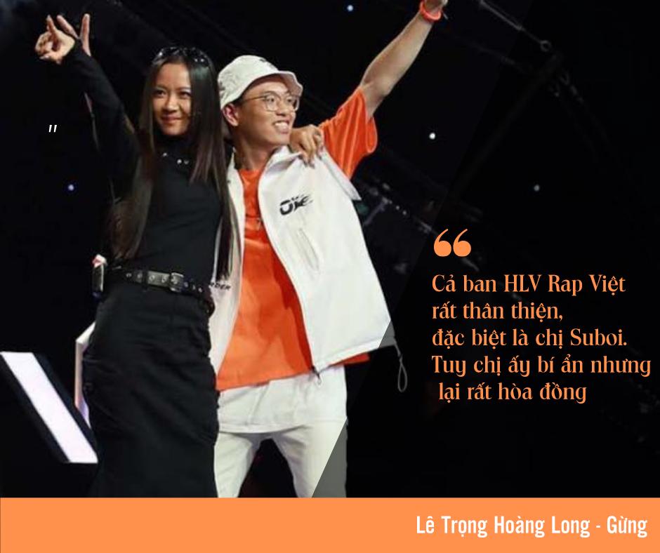 Rapper nhỏ tuổi nhất Rap Việt: 'Không phải ngẫu nhiên rap lại lọt Top 1 thịnh hành' ảnh 3